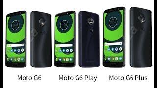 Motorola Moto G6 vs G6 Play vs G6 Plus - Cual comprar guía definitiva
