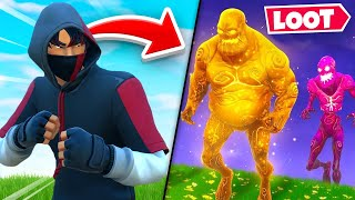 The ZOMBIE LOOT *ONLY* Challenge In Fortnite!