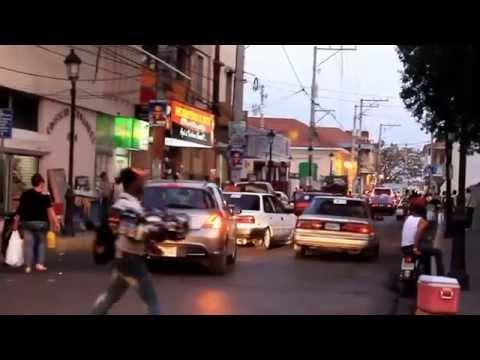 Atardecer - Calle del Sol y 30 de Marzo en Santiago de los Caballeros