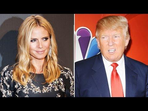 Heidi Klum Responds To Trump's Sexist Attack