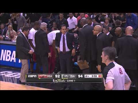 Lebron James' Cramp Game vs Scottie Pippen's Cramp Game