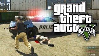 GTA 5 Online - COPS VS ROBBERS! | Custom Game Mode (GTA V Online)