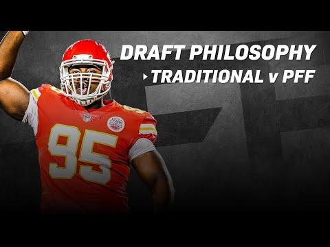 NFL Draft Philosophy: Traditional vs PFF  PFF