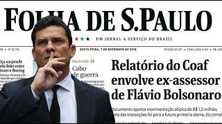 Escândalo dos Bolsonaro desmascara Moro