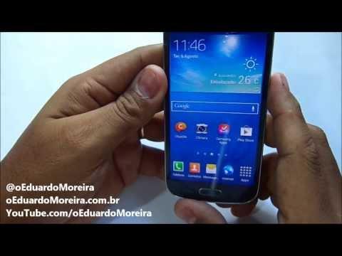 Samsung Galaxy S4 Mini (GT-I9192) - Unboxing e Primeiras Impressões