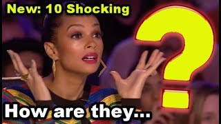TOP 10 *UNEXPECTED & SHOCKING* Auditions EVER That Will BLOW YOUR MIND AWAY!