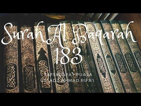 Ustadz Ahmad Rifa'i - Tafsir Ayat Puasa - Surah Al Baqarah Ayat 183