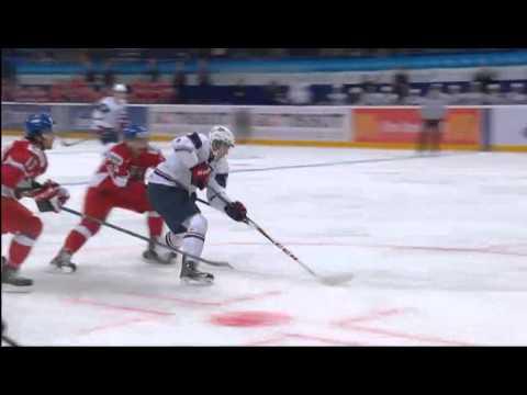 Czech Rep. - USA 0-7  - 2013 IIHF Ice Hockey U20 World Championship 02.01.13