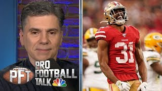 Raheem Mostert, George Kittle top non-QB Super Bowl MVP picks | Pro Football Talk | NBC Sports