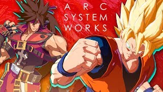 The Animation of Guilty Gear Xrd & Dragon Ball FighterZ