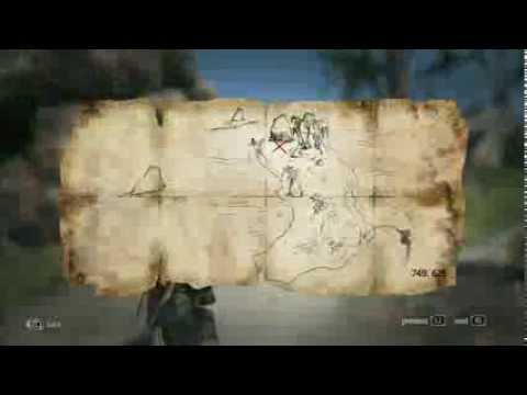 Assassin´s Creed 4 - Treasure Map - 749. 625 Salt Lagoon