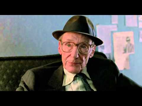 William S. Burroughs prediction in Drugstore Cowboy
