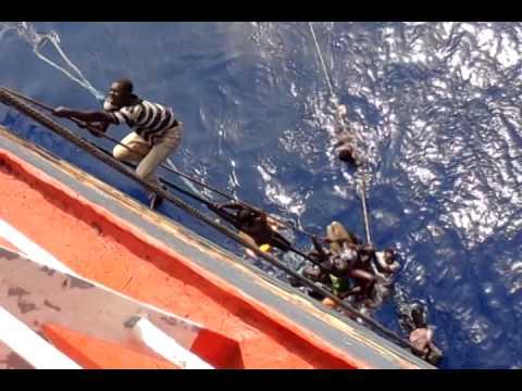M.V. Stjerneborg Search & Rescue Malta to Libya Migrant part 3
