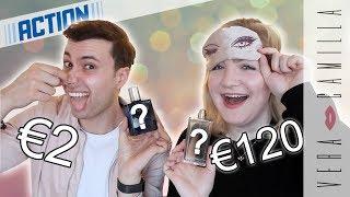HET VERSCHIL TUSSEN €2 ACTION & €120 DIOR? | Blind parfum ruiken | Vera Camilla