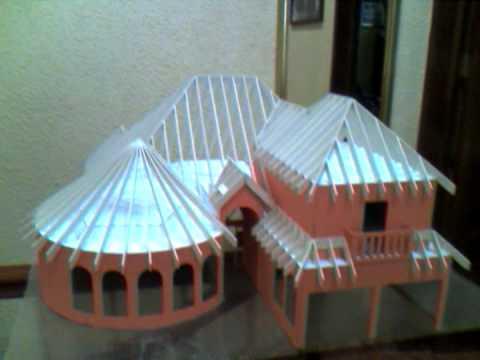 Maqueta de casa estilo mediterraneo youtube - Como hacer una maqueta de una casa ...