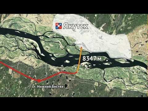 Мост или тоннель соединит берега Лены в Якутии?