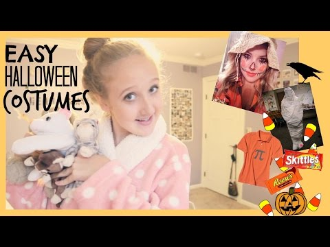DIY Last Minute Halloween Costumes! + GIVEAWAY! | xoxosolie