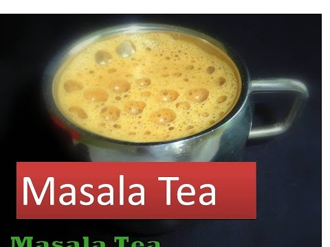 Masala chai or Indian Masala Tea recpie with perfect froth on top