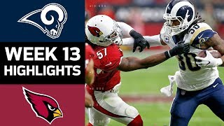 Rams vs. Cardinals | NFL Week 13 Game Highlights