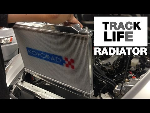 How to Install a Radiator - KOYORAD - Track Life Episode 4