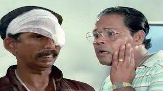 ഒരുത്തന്  അപകടം പറ്റി ആശുപത്രിയിൽ കിടക്കുമ്പോളല്ല ചെറ്റ വർത്താനം പറയല് | Innocent & Mamukoya comedy