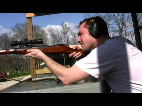 Mosin Nagant 91/30 with Bushnell 2x6 Trophy pistol sniper scope M44