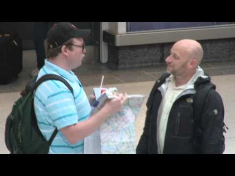 AN AMERICAN TOURIST IN LONDON. Part 1.