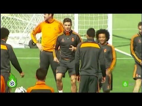 Jugones - Así entrenó Cristiano antes del partido frente al Bayern