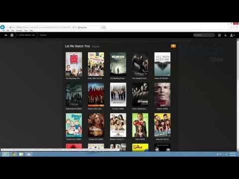 Watch Ice Films and Let Me Watch This on Plex Media Server
