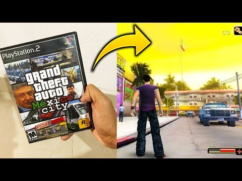 Jugando Grand Theft Auto Mexico GTA Mexicano (Copia Barata de GTA) Totaloverdose