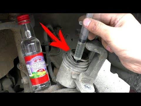 Каждый 2й водитель неправильно меняет тормозные колодки!!