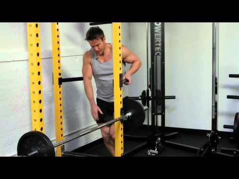 Tricep Workout with Rob Riches on Powertec Power Rack and Functional Trainer