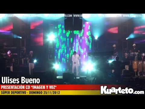 Ulises Bueno - Presentacin CD &quot;Imagen y voz&quot; - Super Deportivo 25/11/2012