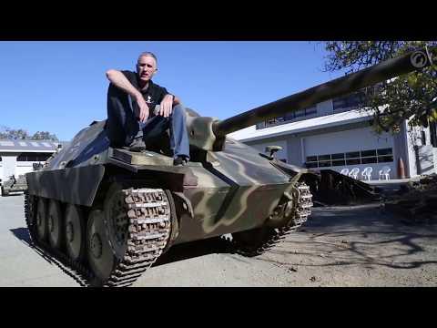 Загляни в реальный танк Хетцер В командирской рубке