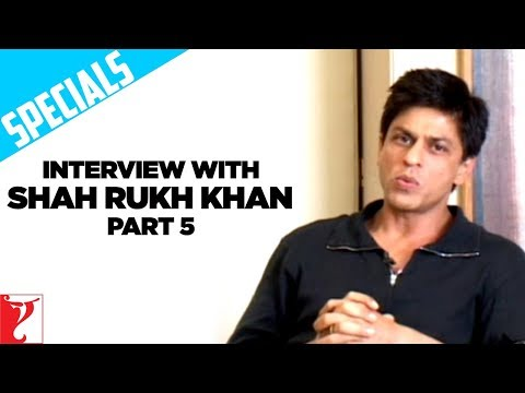 Shahrukh Khan Interview - Rab Ne Bana Di Jodi - Part 5