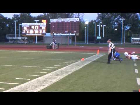 Rose-Hulman Football 2014 Illinois College Highlight