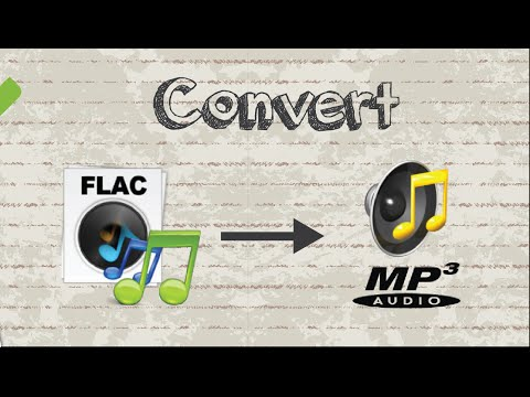 How to convert FLAC file to MP3 format