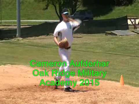 CAMERON AUFDERHAR - NC STING Baseball 2013 - Oak Ridge Military Academy - Class of 2015