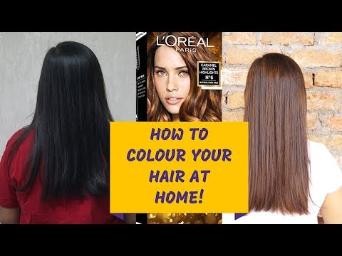 HOW TO COLOUR YOUR HAIR AT HOME! (Easy Hair Highlights) | Vanya Bhatnagar