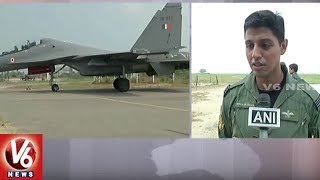IAF Conducts Rehearsals For Air Force Day Celebrations In Halwara