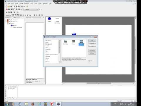 Как создать свою игру через Multimedia Fusion 2. Урок 1. Скачать Взлом акка