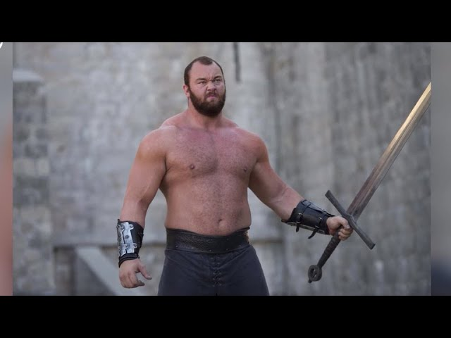 """The Mountain"" from ""Game of Thrones"" named World's Strongest Man"