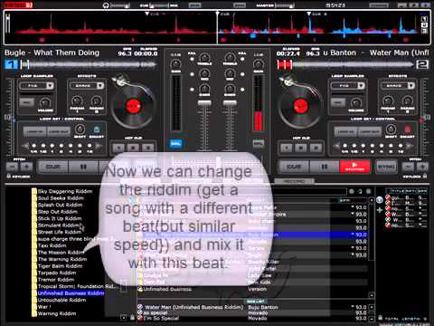 Virtual DJ Pro - How to Mix Songs