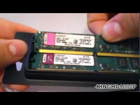 Обзор оперативной памяти Kingston KVR1333D3N9K2/4G - Видео