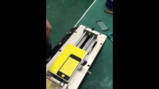 How to operate the 3 in 1 OCA laminating machine