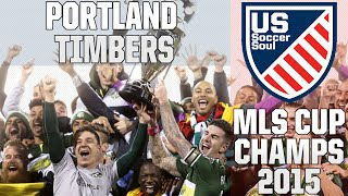 Portland Timbers Win MLS Cup. Everyone goes nuts. ● US Soccer Soul | HD