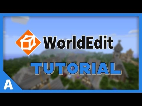 WorldEdit Plugin Tutorial 1.7.5 - Teil 1 [Deutsch] [HD]