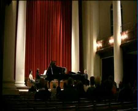 Mozart Sonata with Ivory Duo two-piano team