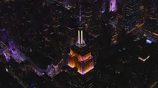 Empire State Building Light-to-Music 30th Anniversary Show | The Phantom of the Opera on Broadway