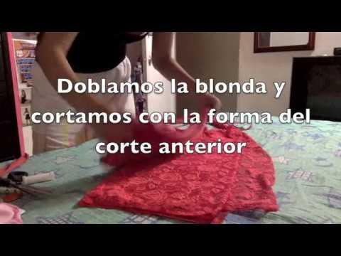 DIY: Como hacer falda tubo en 15 minutos, MUY FACIL.